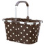 Carrybag mocca dots Reisenthel.