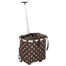 Carrycruiser trolley mocca dots Reisenthel.